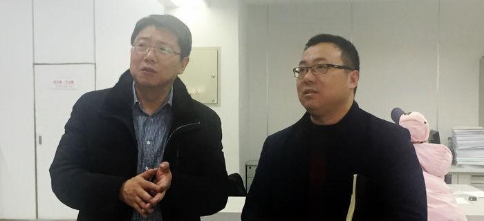 泰安科学技术研究院一行到访大市场