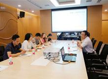 西北工业大学深圳研究院一行到大市场调研